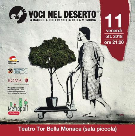 Voci nel deserto - Teatro Tor Bella Monaca